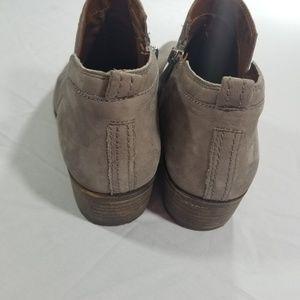 Franco Sarto Shoes - Franco Sarto Iron Gray Laslo Ankle Booties